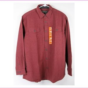 Men's Double brushed Flannel Chamois Shirt
